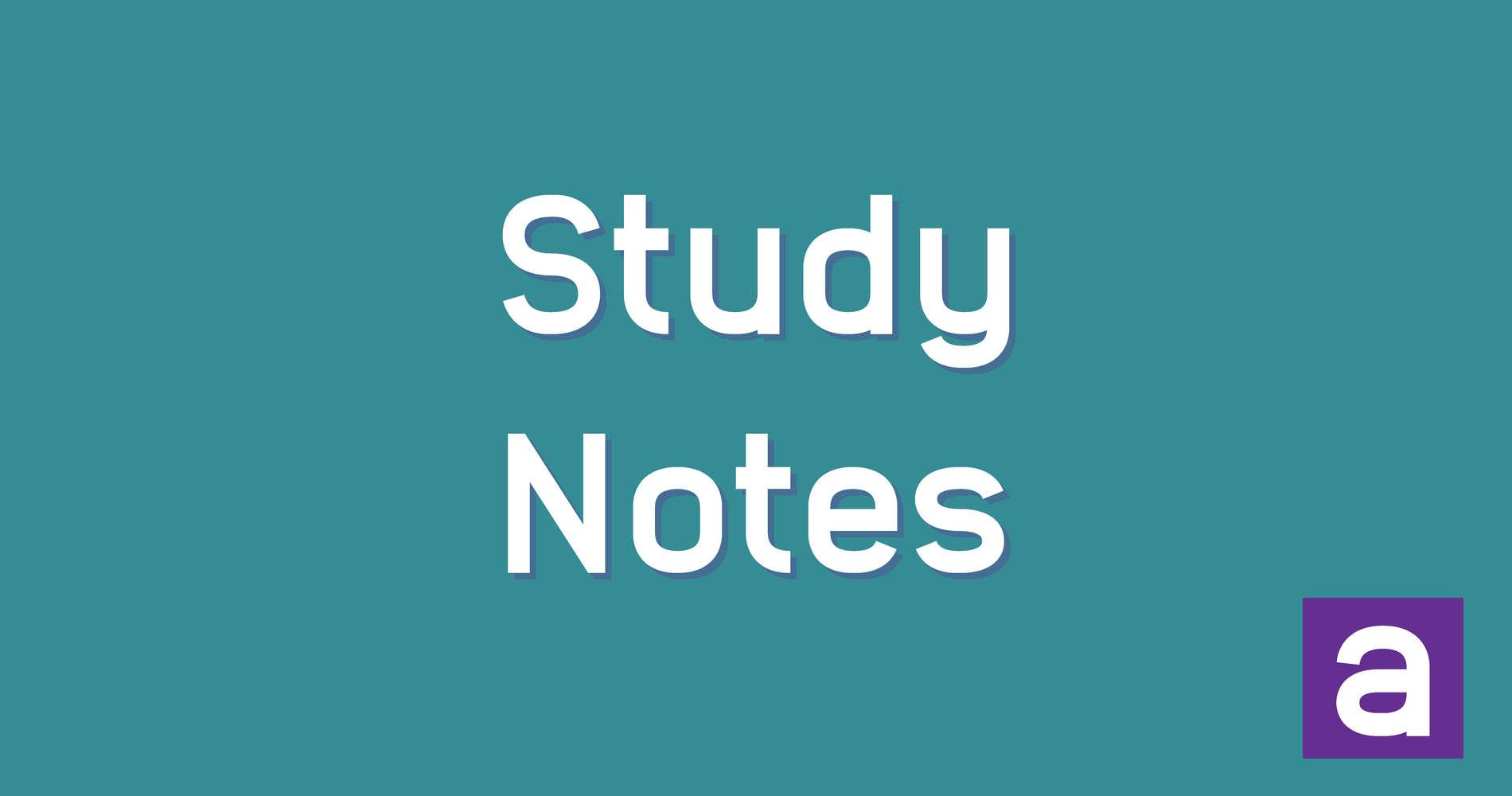 Biology Study Notes