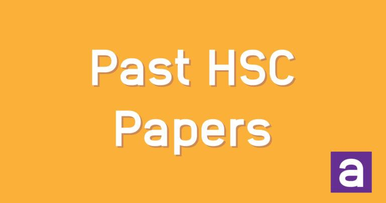 past-hsc-papers